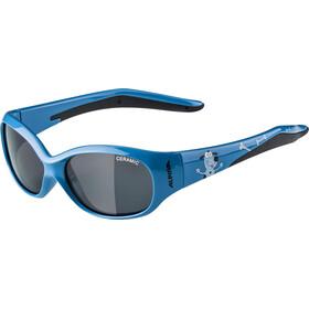Alpina Flexxy Okulary rowerowe Dzieci, blue dog
